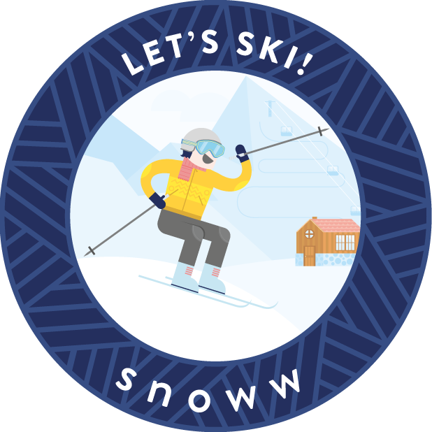 snoww: ski & snowboard tracker messages sticker-7