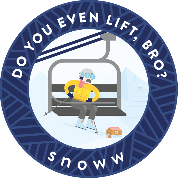 snoww: ski & snowboard tracker messages sticker-3