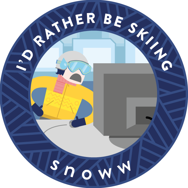 snoww: ski & snowboard tracker messages sticker-9