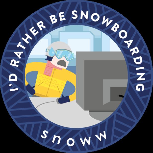 snoww: ski & snowboard tracker messages sticker-8