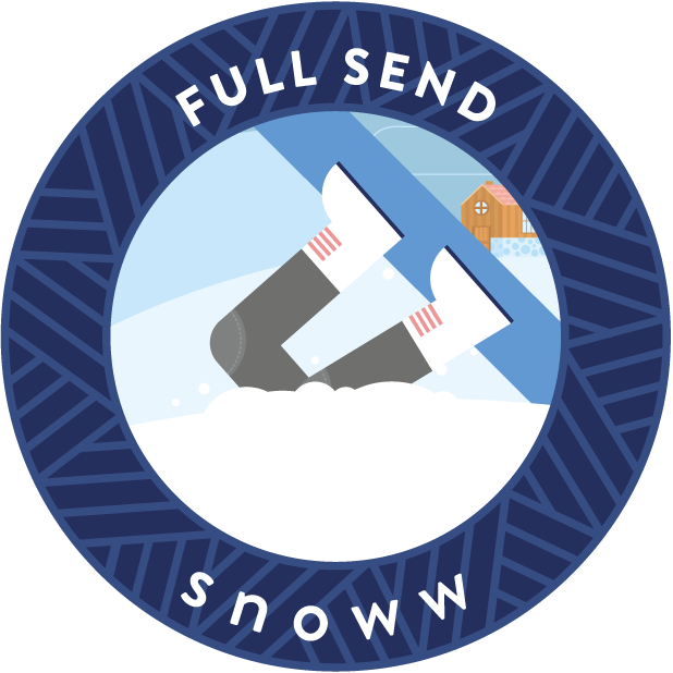 snoww: track your skiing messages sticker-4