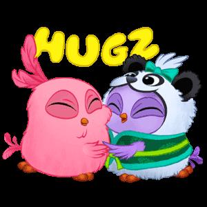 Angry Birds Match messages sticker-8
