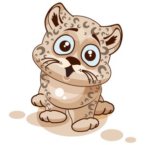 Leopard Stickers messages sticker-4