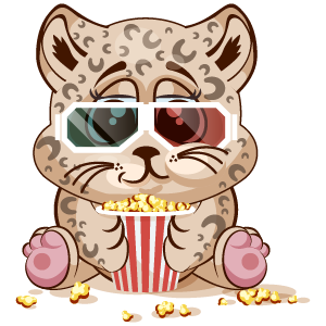 Leopard Stickers messages sticker-1