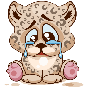 Leopard Stickers messages sticker-2