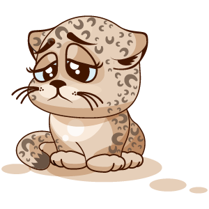 Leopard Stickers messages sticker-3