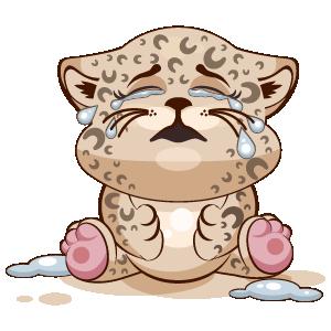 Leopard Stickers messages sticker-11