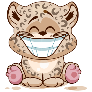 Leopard Stickers messages sticker-10