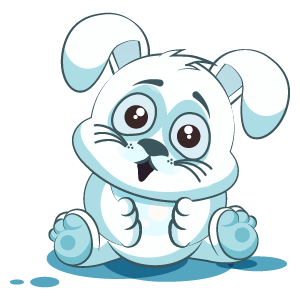 Bunny Stickers Pack messages sticker-5