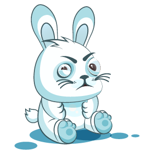 Bunny Stickers Pack messages sticker-0