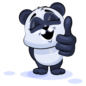 Panda Stickers Pack messages sticker-7