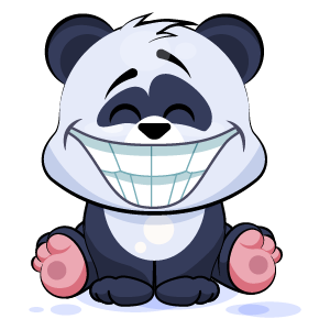 Panda Stickers Pack messages sticker-10