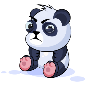Panda Stickers Pack messages sticker-0