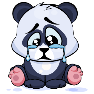 Panda Stickers Pack messages sticker-2