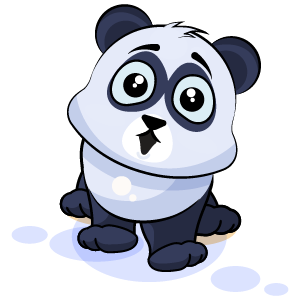 Panda Stickers Pack messages sticker-5