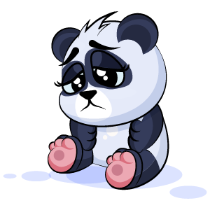 Panda Stickers Pack messages sticker-3