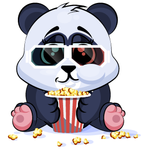 Panda Stickers Pack messages sticker-1