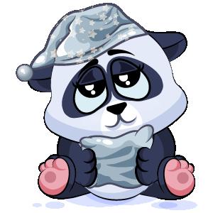 Panda Stickers Pack messages sticker-8
