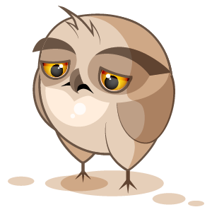 Owl Stickers messages sticker-2