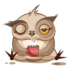 Owl Stickers messages sticker-4