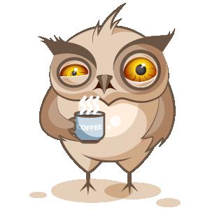 Owl Stickers messages sticker-3