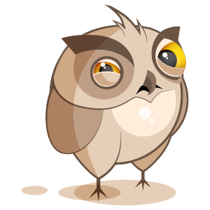 Owl Stickers messages sticker-0