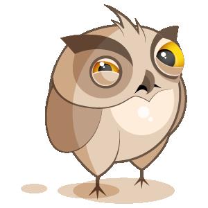 Owl Stickers messages sticker-0