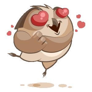 Owl Stickers messages sticker-9
