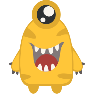 Monsters Stickers messages sticker-11