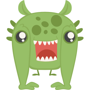 Monsters Stickers messages sticker-8