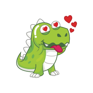 Dynosaur Stickers messages sticker-8