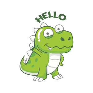 Dynosaur Stickers messages sticker-0