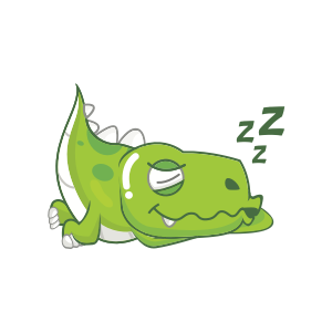Dynosaur Stickers messages sticker-4