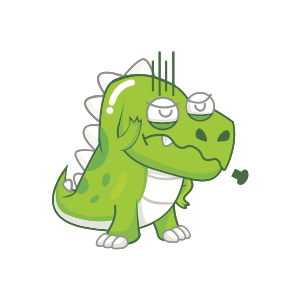Dynosaur Stickers messages sticker-7