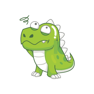 Dynosaur Stickers messages sticker-3