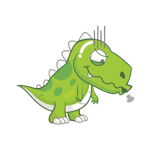 Dynosaur Stickers messages sticker-10