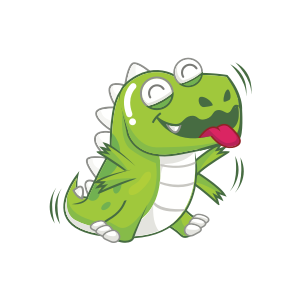 Dynosaur Stickers messages sticker-5