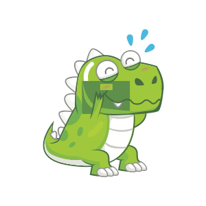 Dynosaur Stickers messages sticker-1