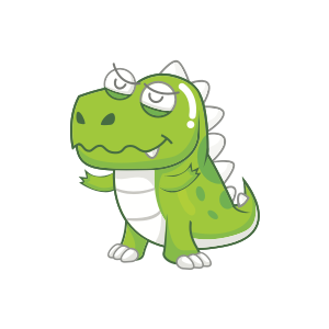 Dynosaur Stickers messages sticker-2