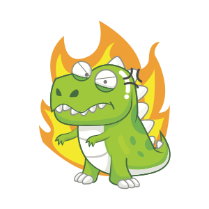Dynosaur Stickers messages sticker-6