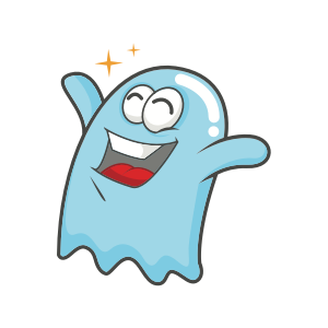 Cute Ghost messages sticker-0