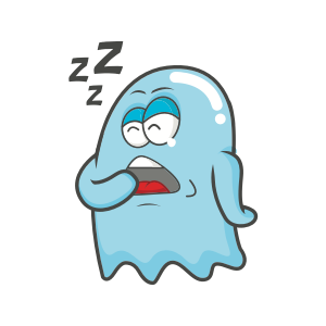 Cute Ghost messages sticker-1