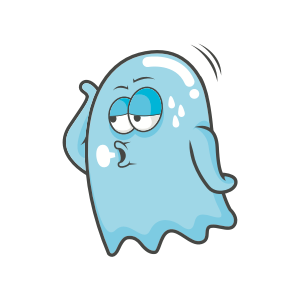 Cute Ghost messages sticker-3