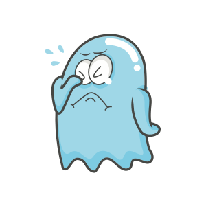 Cute Ghost messages sticker-10