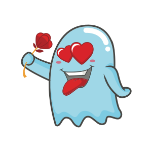 Cute Ghost messages sticker-2