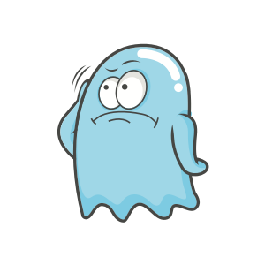 Cute Ghost messages sticker-5