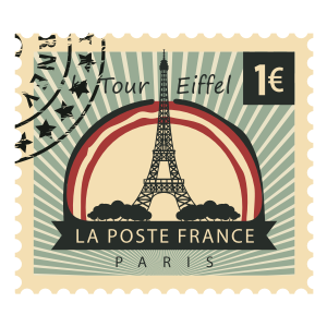 Stamps Paris Stickers messages sticker-3