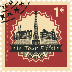 Stamps Paris Stickers messages sticker-6
