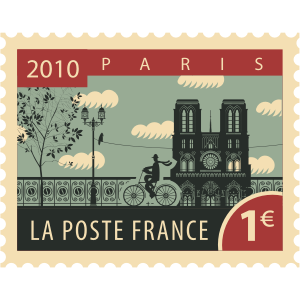 Stamps Paris Stickers messages sticker-9