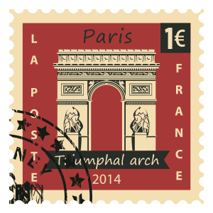Stamps Paris Stickers messages sticker-0